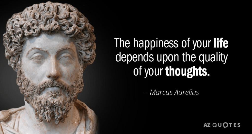 Elämäsi onnellisuus riippuu ajatuksiesi laadusta