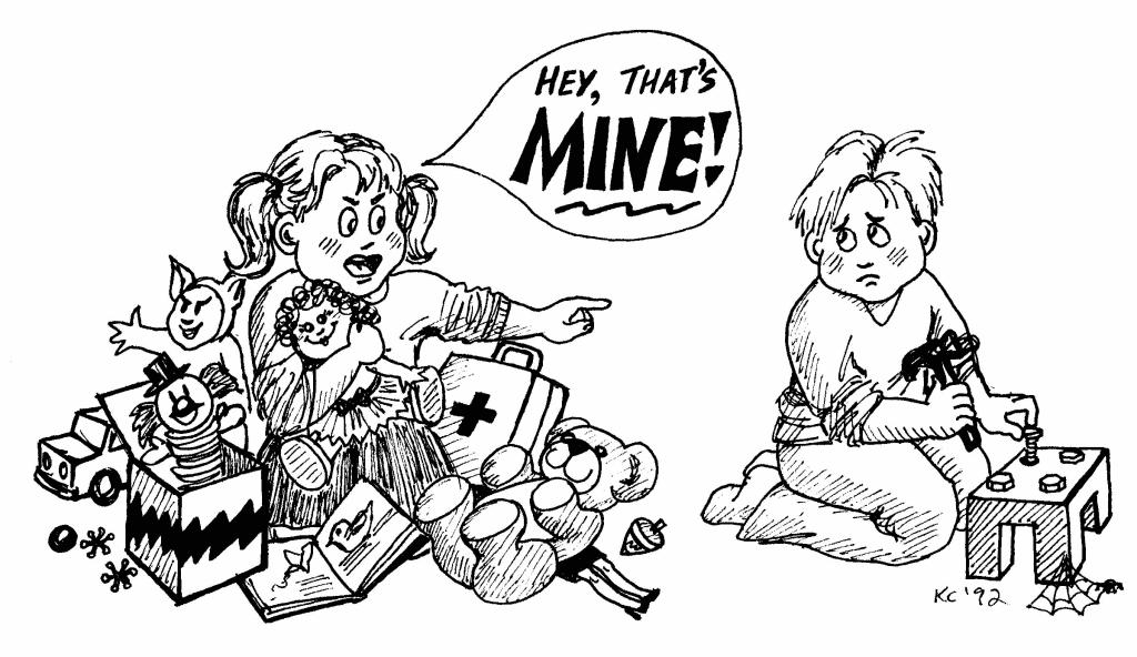 Lapset kiintyvät leluihin jo parin vuoden iässä