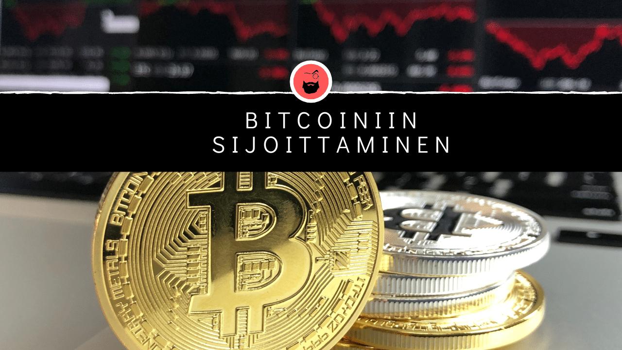 Sijoittaminen bitcoiniin