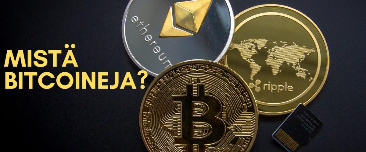 Mistä bitcoineja voi ostaa